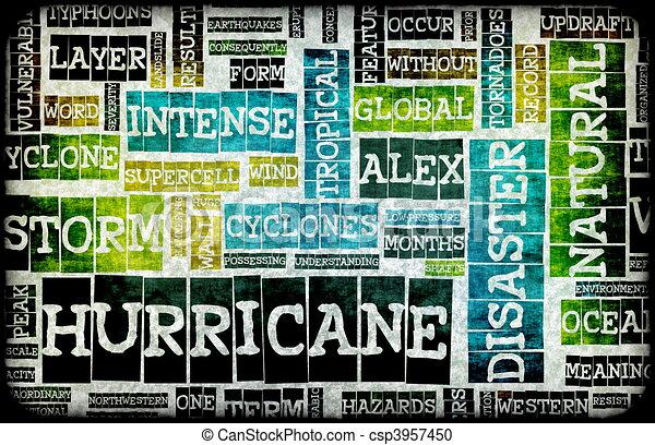 Hurricane - csp3957450
