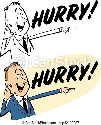 Hurry - csp42129237