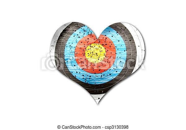Hurt heart - csp3130398