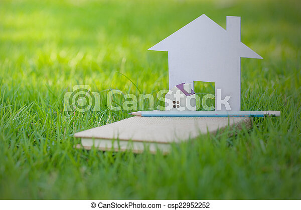 hus, begrepp, min - csp22952252