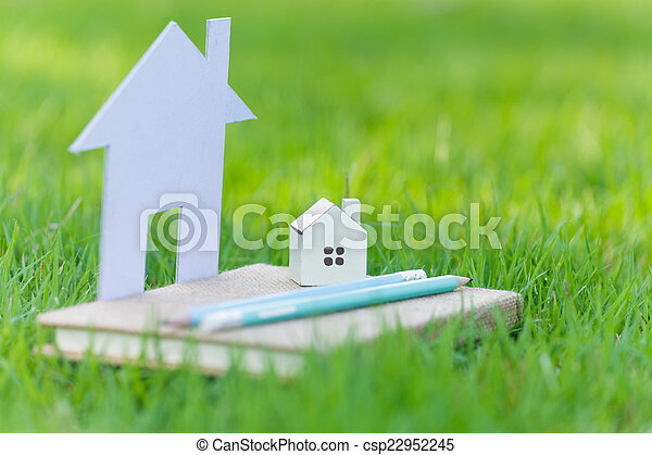 hus, begrepp, min - csp22952245