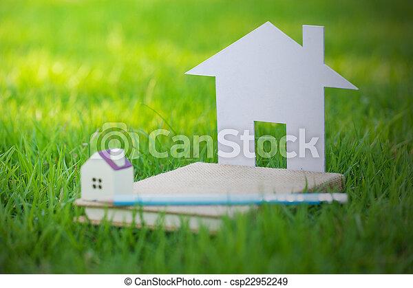 hus, begrepp, min - csp22952249