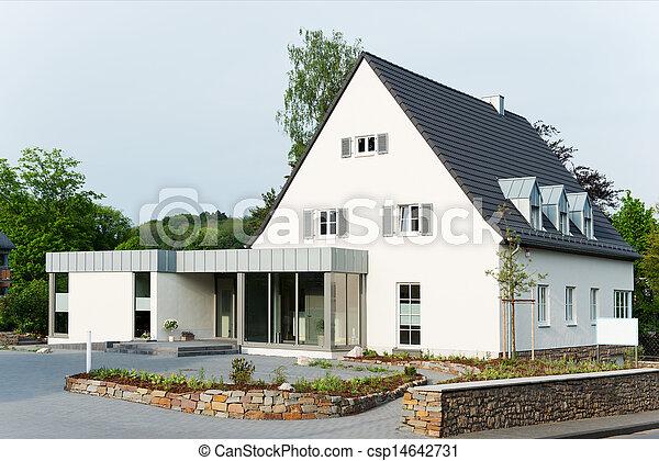 hus, förorts- - csp14642731