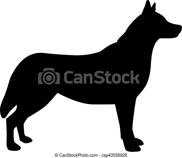 husky dog silhouette dog vector files dog vector silhouette