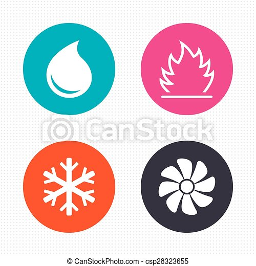 air conditioning clipart. heating, ventilating and air conditioning. - circle. conditioning clipart