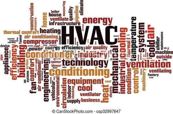 hvac word cloud concept vector illustration rh canstockphoto com HVAC Clip Art HVAC Artwork