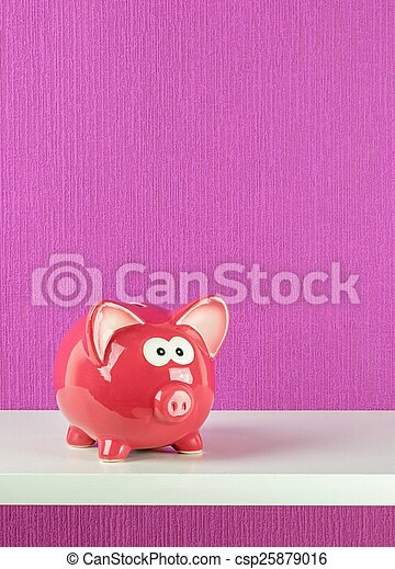 hylde, piggy bank - csp25879016