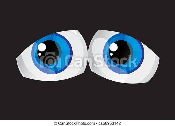 Riesige Augen