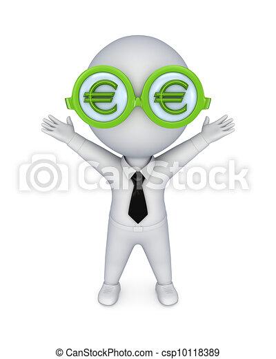 Hypnotic euro glasses. - csp10118389