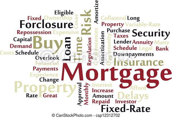 hypothèque - csp12312702