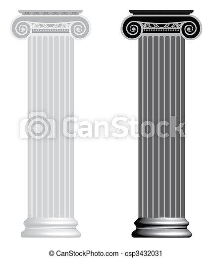 Columna iónica. - csp3432031