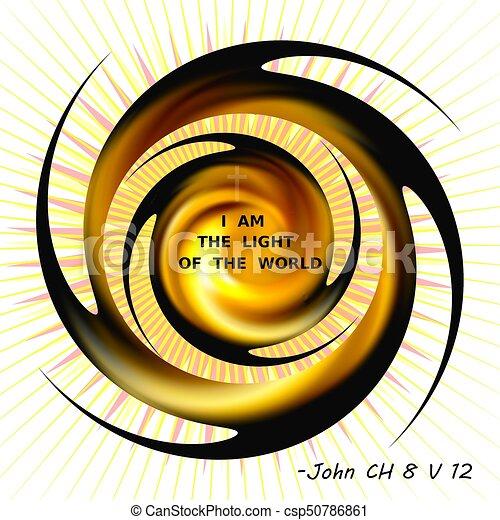 I Am The Light Of The World Jesus Proclaims I Am The