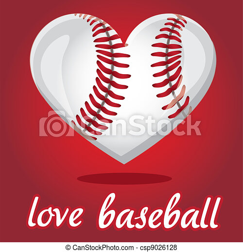 I love baseball - csp9026128