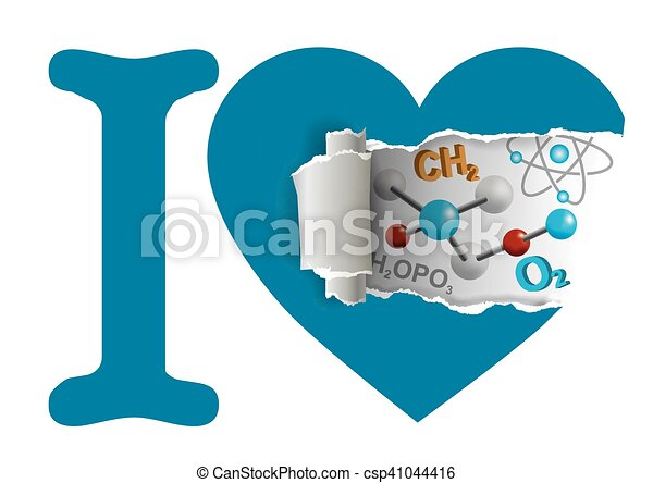 I love chemistry - csp41044416