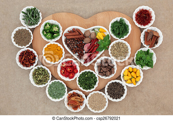 I Love Herbs and Spices - csp26792021
