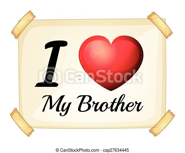 i love my brother csp27634445