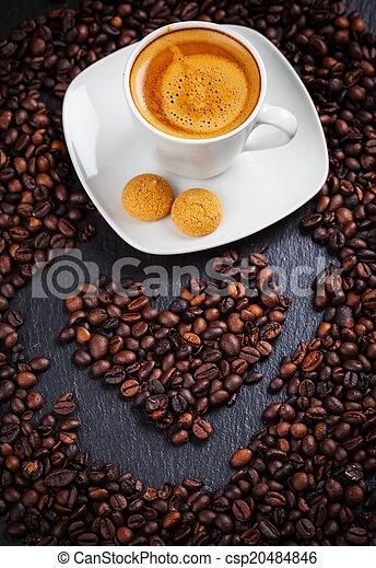 I love my coffee  - csp20484846