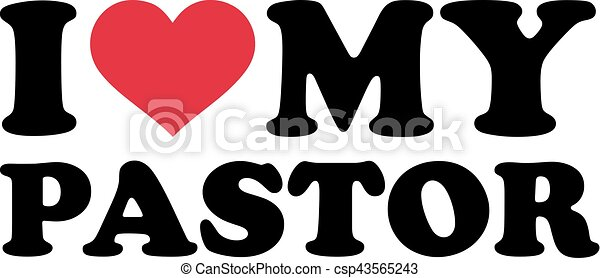 I love my pastor - csp43565243