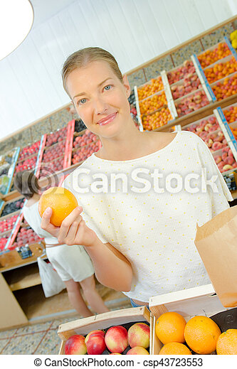 i love orange - csp43723553