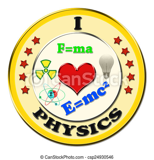 i love physics button on a white background drawing search clip rh canstockphoto com