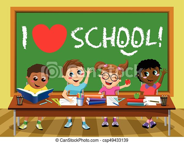 i love school blackboard happy kids children classroom i school clipart for african americans school clipart for african americans