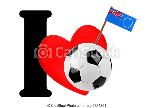 I love soccer ball - csp9724321