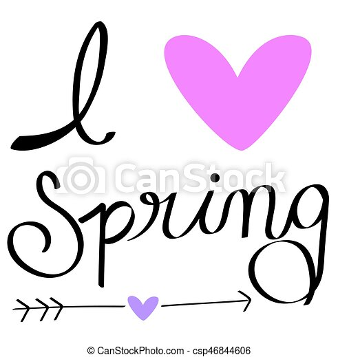 i love spring vector clipart search illustration drawings and rh canstockphoto co uk spring vector game spring vector game