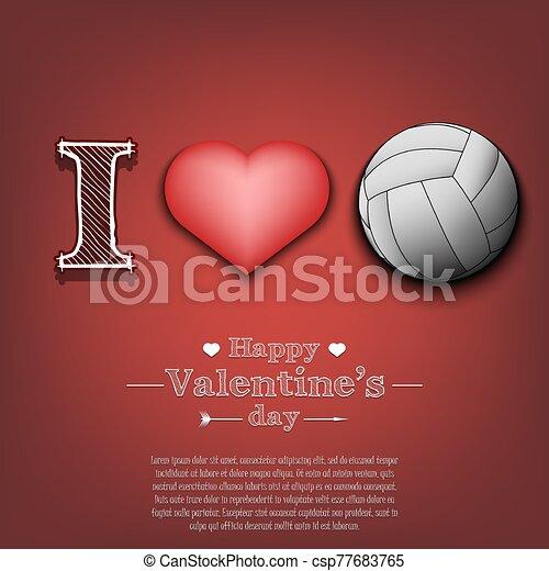 Love Volleyball Stock Illustrations – 298 Love Volleyball Stock  Illustrations, Vectors & Clipart - Dreamstime