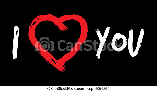 I Love You - csp18056260
