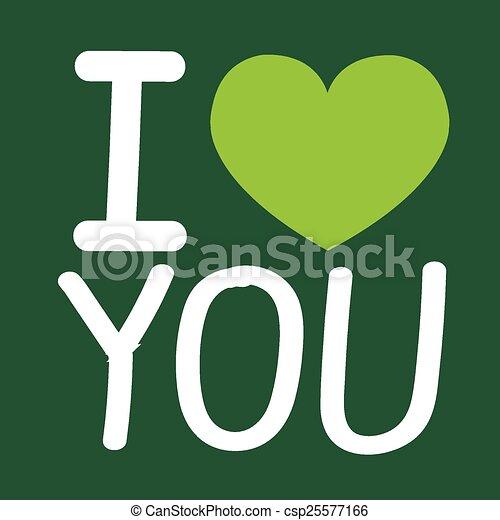 I Love You - csp25577166