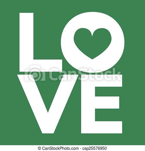 I Love You - csp25576950