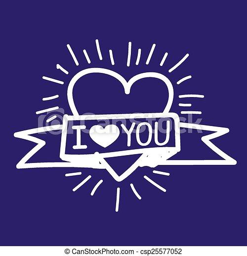 I Love You - csp25577052