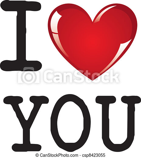 i love you message on white background vector illustration clipart rh canstockphoto com i love you clipart cute i love you clipart pictures
