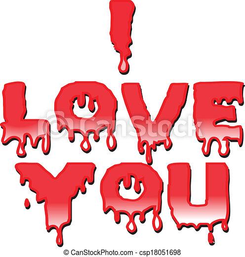 I LOVE YOU - csp18051698