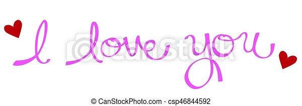 I Love You - csp46844592
