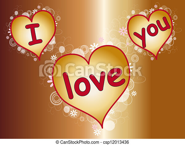 i love you - csp12013436