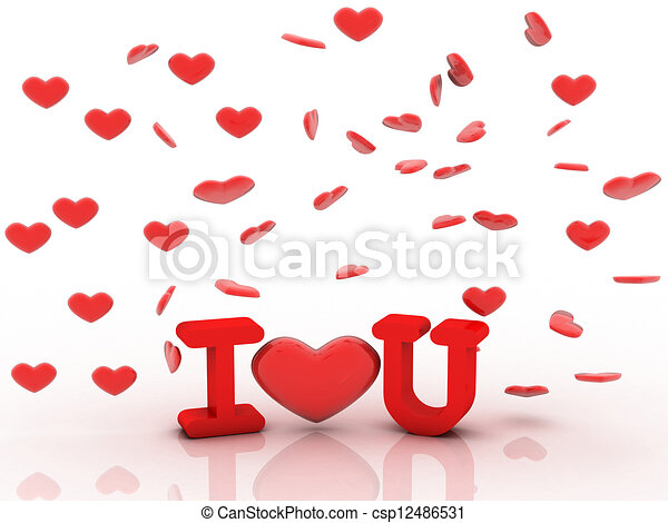 I love you - csp12486531