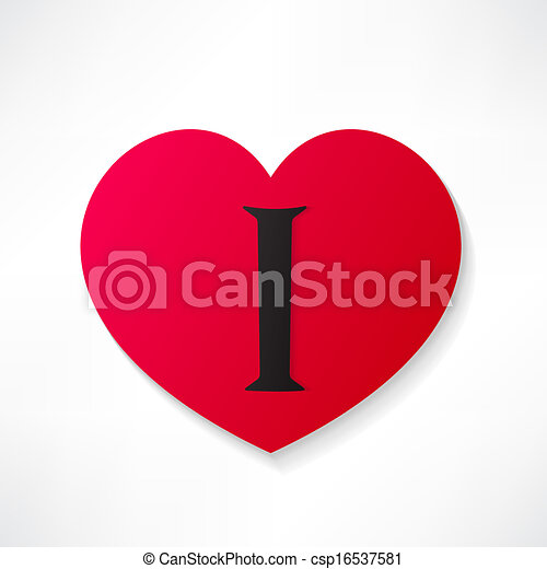 I love you - csp16537581