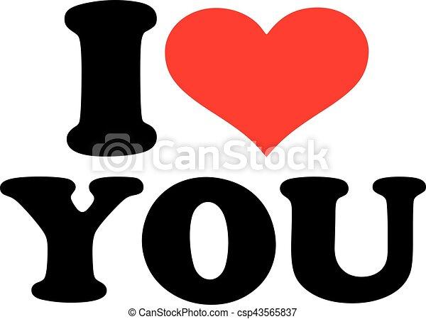 I love you - csp43565837