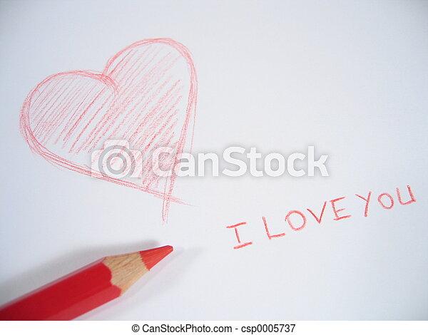 I Love You I - csp0005737