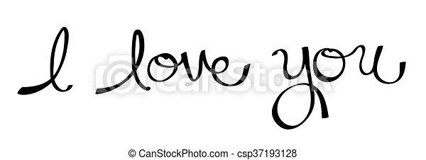 I Love You - csp37193128