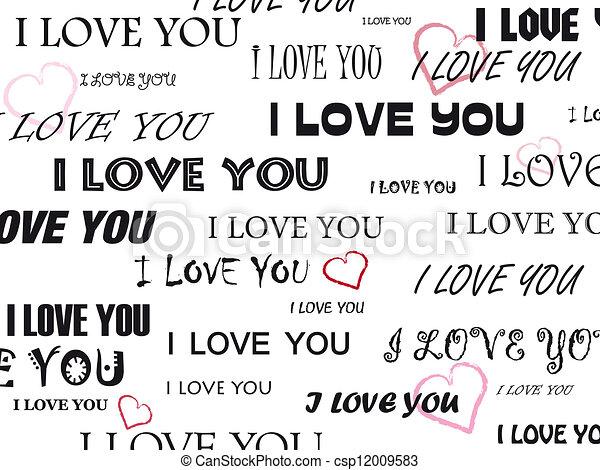 i love you - csp12009583