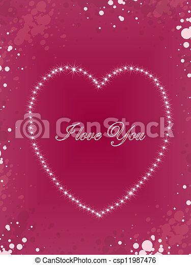i love you - csp11987476