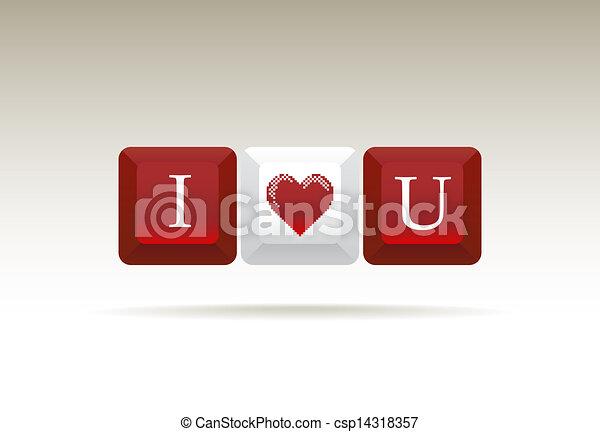 I love you - csp14318357