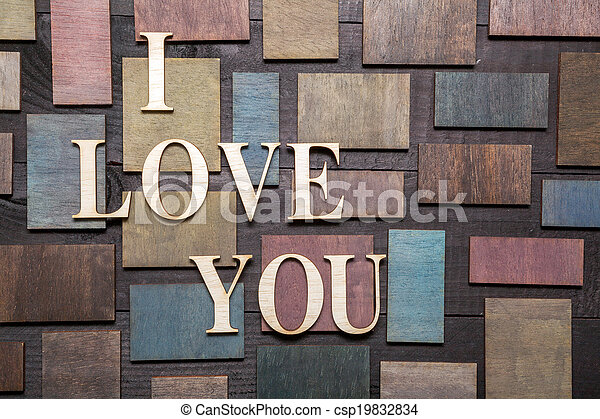 I love you - csp19832834