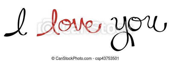 I Love You - csp43753501