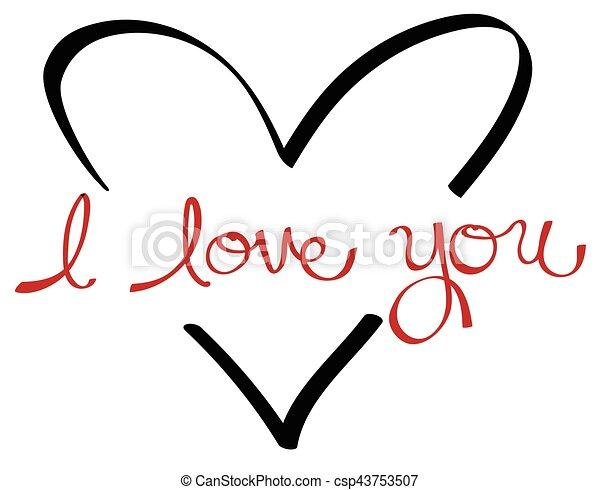 I Love You - csp43753507