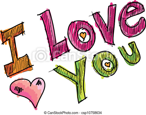 i love you vector illustration vectors search clip art rh canstockphoto com i love you clipart i love you clipart animated