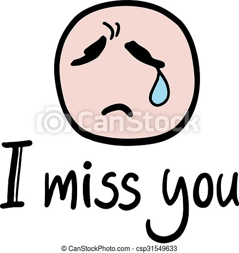 creative design of i miss you message vectors search clip art rh canstockphoto com miss you clip art images miss you clipart free