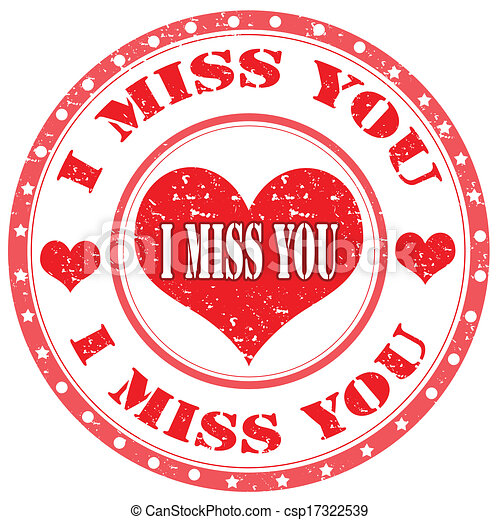 i miss you stamp grunge rubber stamp with text i miss you vector rh canstockphoto com i miss you already clip art i am going to miss you clip art